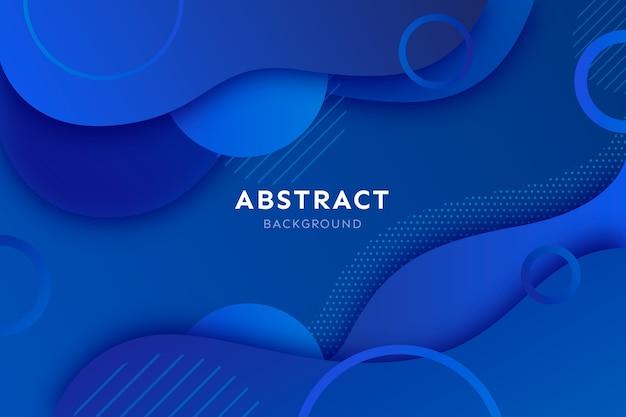 Fondo abstracto clásico azul