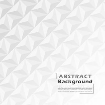 Fondo abstracto de color blanco y gris