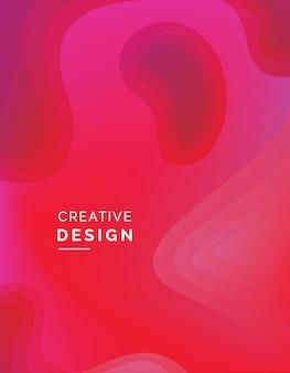 Fondo abstracto de color rojo