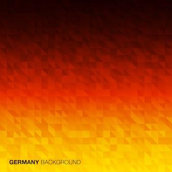Fondo abstracto con colores de la bandera de alemania