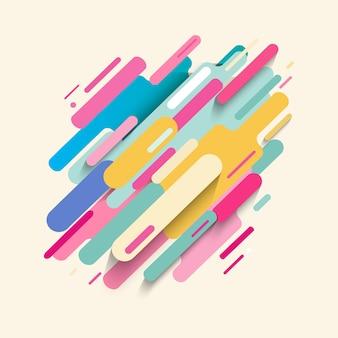Fondo abstracto colorido adorno