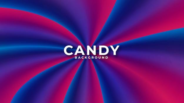 Fondo abstracto colorido caramelo