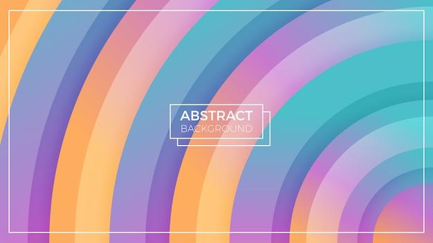 Fondo abstracto colorido círculo
