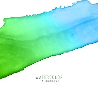 Fondo abstracto colorido del diseño de chapoteo de acuarela