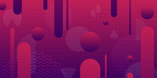 Fondo abstracto colorido con geometría mínima como elemento.