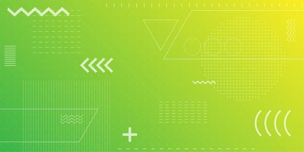Fondo abstracto colorido con geometría mínima