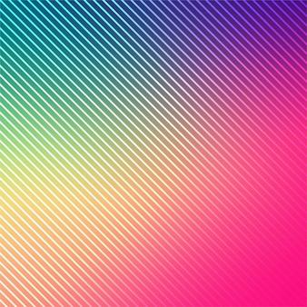 Fondo abstracto colorido líneas brillantes