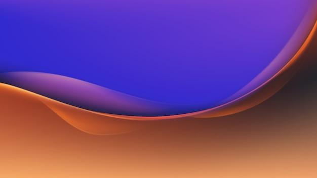 Fondo abstracto colorido onda multicolor