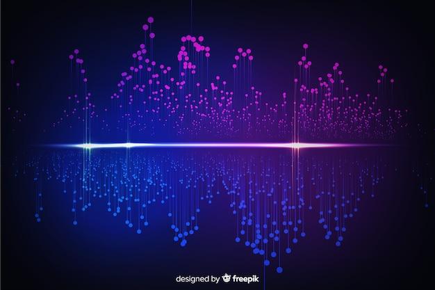 Fondo abstracto de concepto de datos grandes