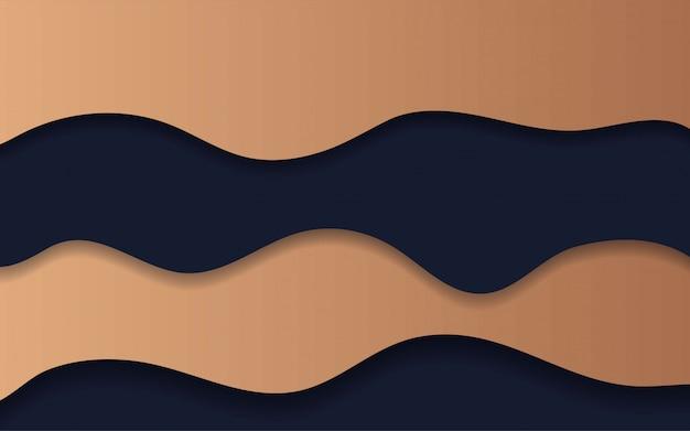 Fondo abstracto de corte de limo de papel abstracto