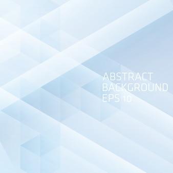 Fondo abstracto con cubo