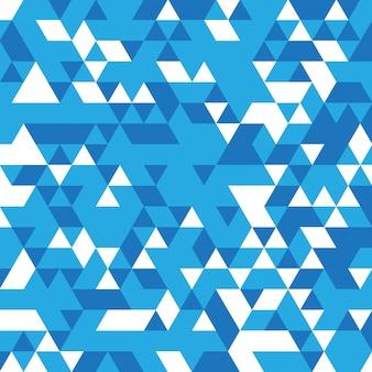 Fondo abstracto de mosaico azul