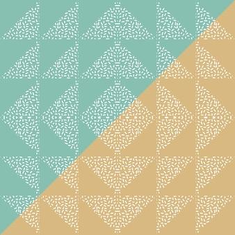 Fondo abstracto de triángulo sin fisuras