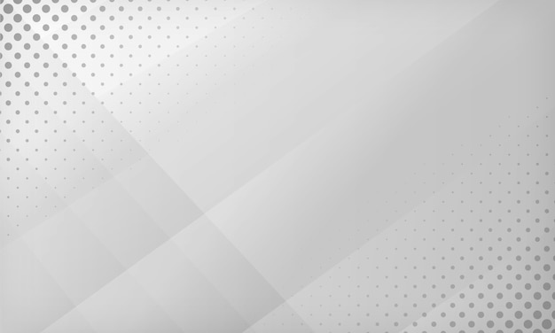 Fondo abstracto degradado blanco y gris. textura con fondo de diseño de puntos de semitono.