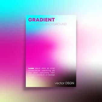Fondo abstracto con degradado de colores