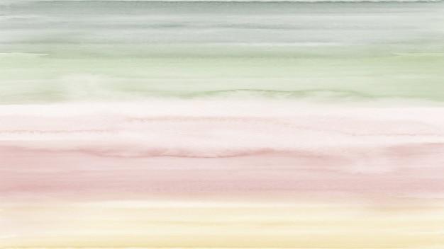 Fondo abstracto degradado vintage creativo con manchas de acuarela pintadas a mano.