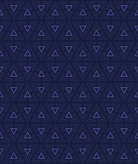 Fondo abstracto del patrón triangular sin fisuras.