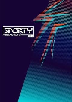 Fondo abstracto deportivo