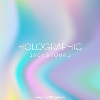 Fondo abstracto desenfocado con efecto holográfico