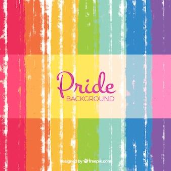 Fondo abstracto del día del orgullo