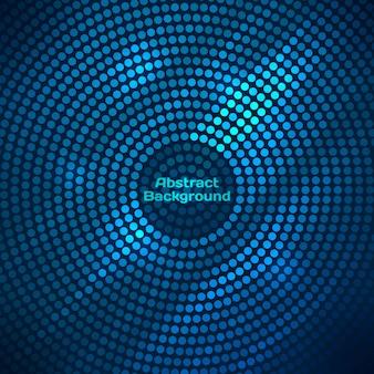 Fondo abstracto disco con semitono