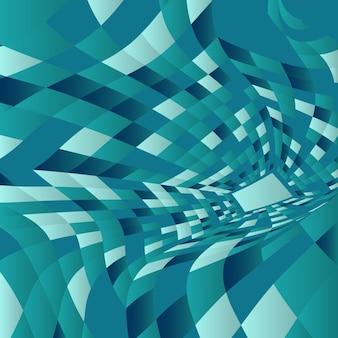 Fondo abstracto con diseño de deformación moderna