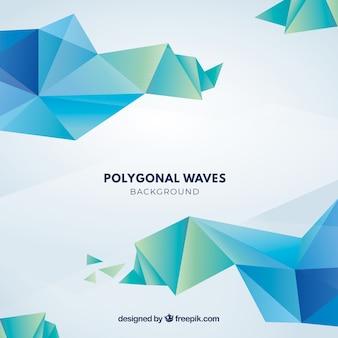 Fondo abstracto con diseño geométrico