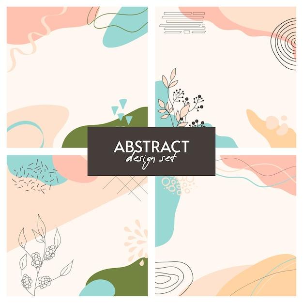 Fondo abstracto. diseño moderno en estilo minimalista.