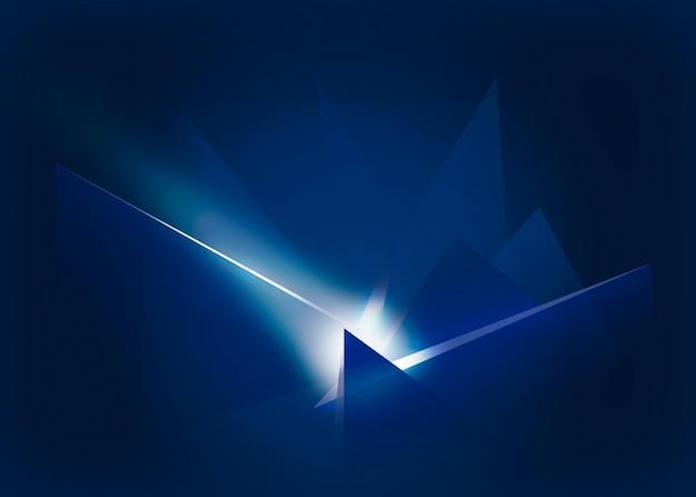 Fondo abstracto con efecto de luces