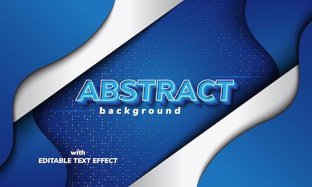 Fondo abstracto con efecto de texto editable