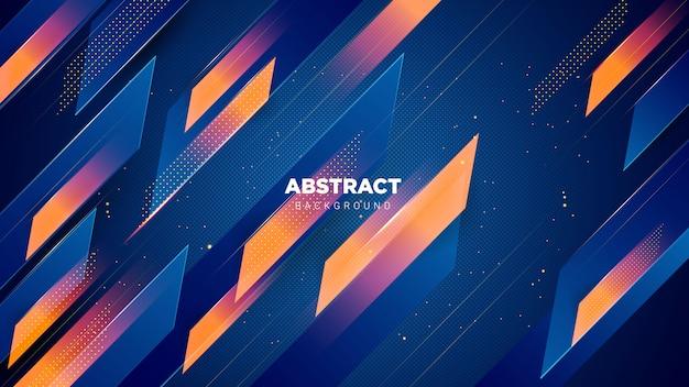 Fondo abstracto elegante con combinación de colores degradados