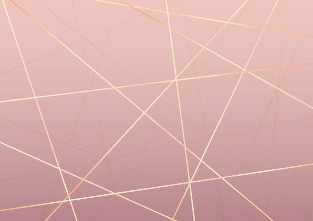 Fondo abstracto elegante con diseño de líneas doradas