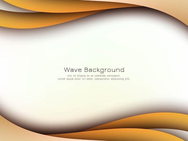 Fondo abstracto elegante onda
