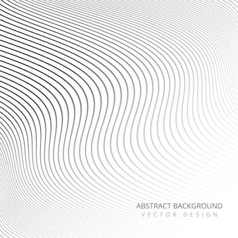 Fondo abstracto elegantes líneas elegantes