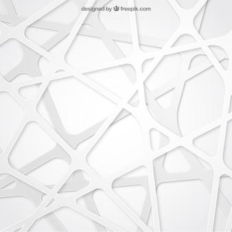 Fondo abstracto en color blanco