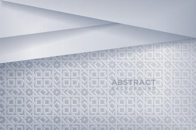 Fondo abstracto con estilo del arte del papel 3d.