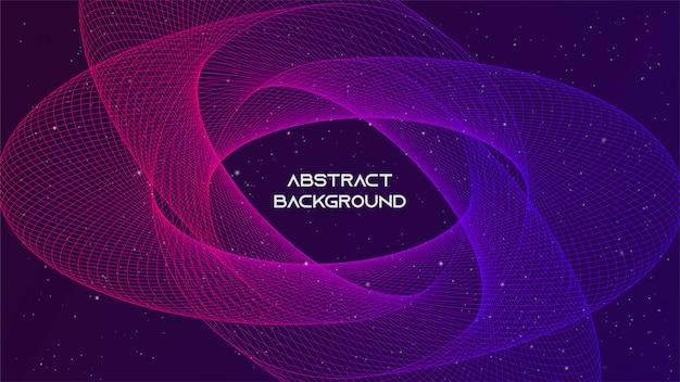 Fondo abstracto estilo futurista de la tecnología