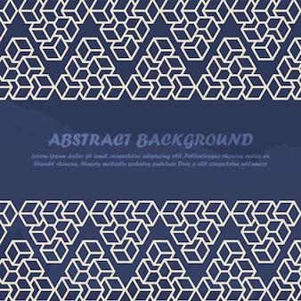 Fondo abstracto de estilo minimalista con bloques de línea