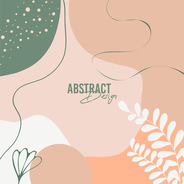 Fondo abstracto. estilo moderno y minimalista.