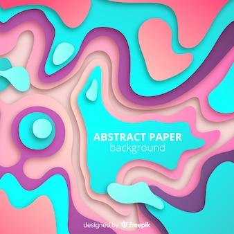 Fondo abstracto de estilo papel