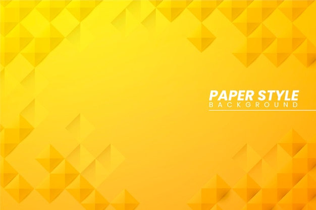 Fondo abstracto de estilo de papel