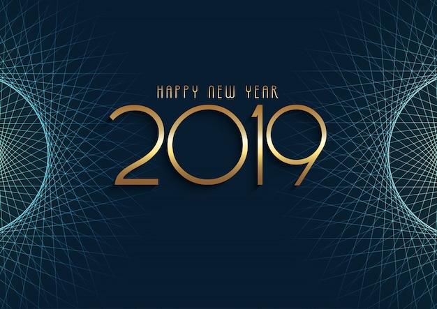 Fondo abstracto feliz año nuevo