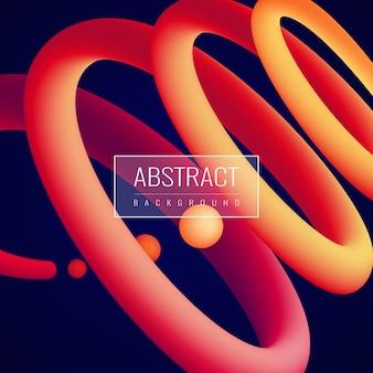 Fondo abstracto fluido holográfico