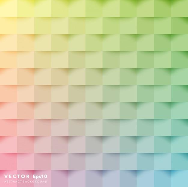 Fondo abstracto. fondo geométrico colorido