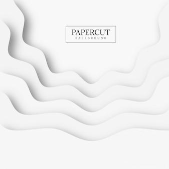 Fondo abstracto de la forma del papercut