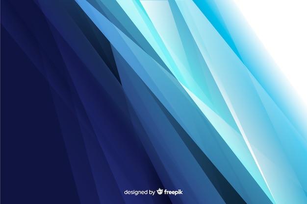Fondo abstracto con formas azules