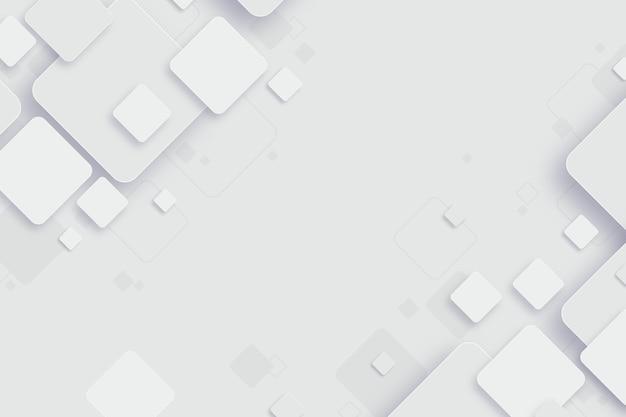 Fondo abstracto formas blancas