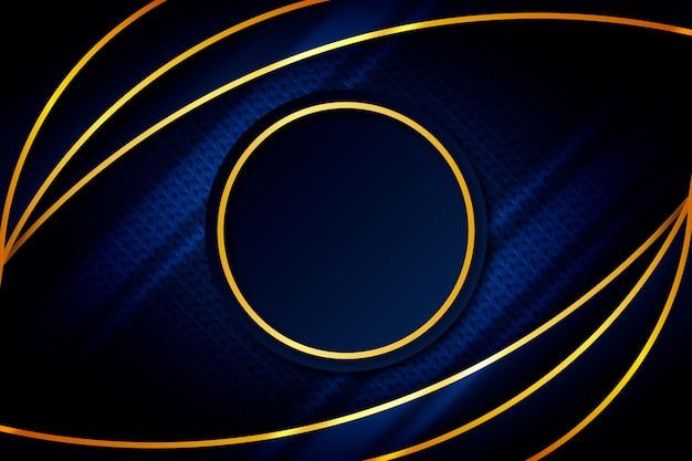 Fondo abstracto con formas circulares