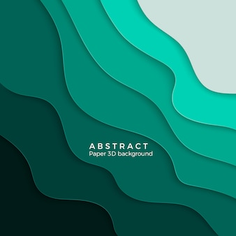 Fondo abstracto con formas de corte de papel blanco. diseño para presentaciones de negocios, folletos, carteles. ilustración