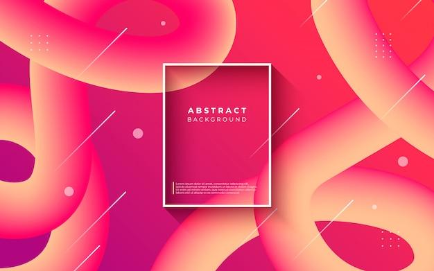 Fondo abstracto con formas fluidas gradiente
